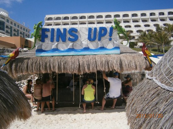Great Parnassus Family Resort:                                                       beach bar