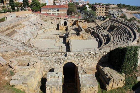 Tarragona, España:                   Вид сверху