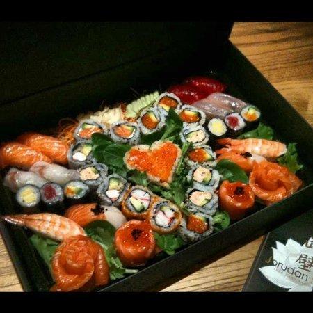 Jorudan Sushi: valentine's box