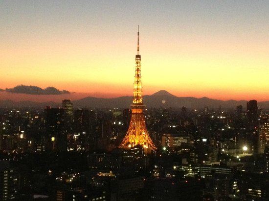 Park Hotel Tokyo:                   Great Views...