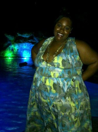 Marriott Aruba Resort & Stellaris Casino:                   The pool at night