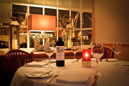 Mallams Restaurant: A window table.
