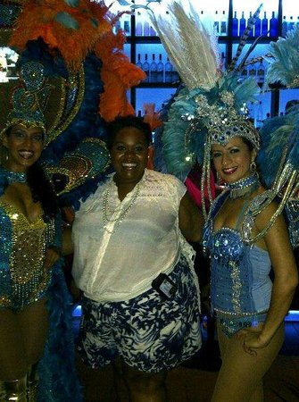 Aruba Marriott Resort & Stellaris Casino:                   Carnival Dancers