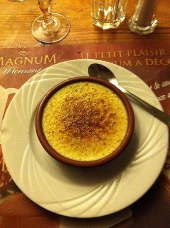 La Grange:                   Crème catalane