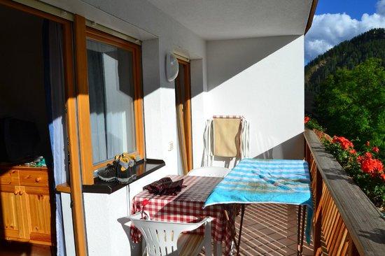 Residence Barbara:                   balcone