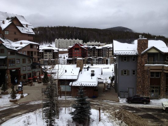 Zephyr Mountain Lodge:                   View from our balcony overlooking the Village