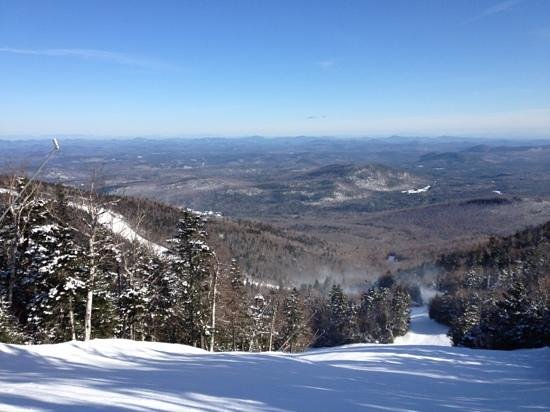 One of many great views from Gore Mountain