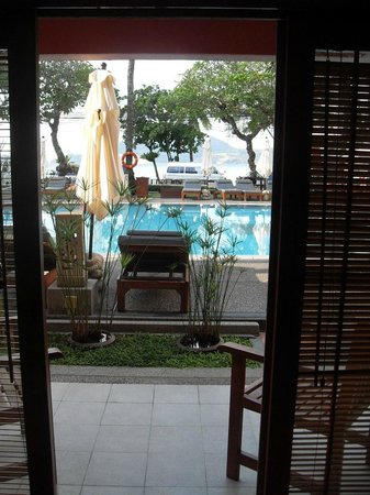 Seaview Patong Hotel:                   view from room