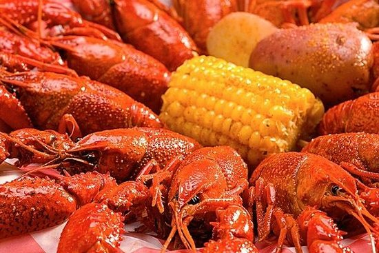 Razzoo's Cajun Cafe : Crawfish!