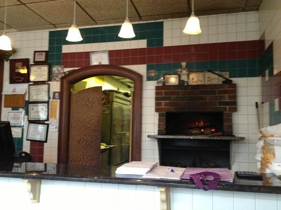 Cafe L' Amore : great oven pizza