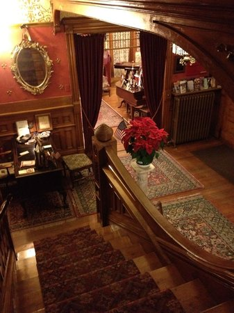 Castle Marne Bed & Breakfast Inn:                   View in the Hallway