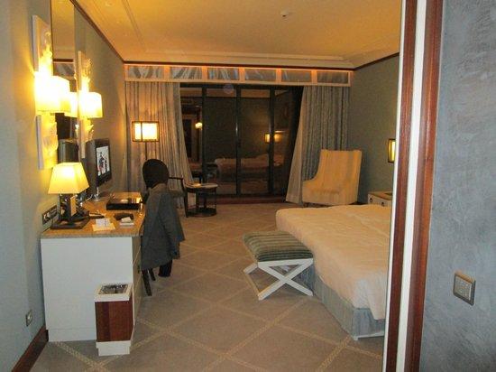 جراند ريال فيلا إيطاليا:                   chambre de luxe vue sur la mer                 