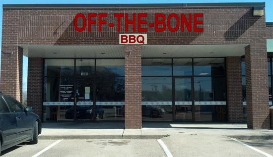 Off the Bone BBQ:                                     FRONT