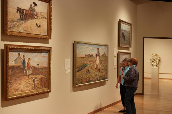 South Dakota Art Museum: Harvey Dunn gallery