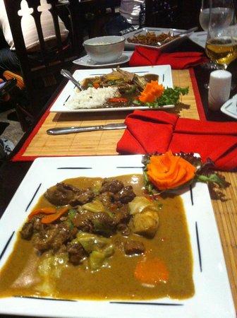 SUNRISE Select Royal Makadi Resort:                   our food at the asian restaurant