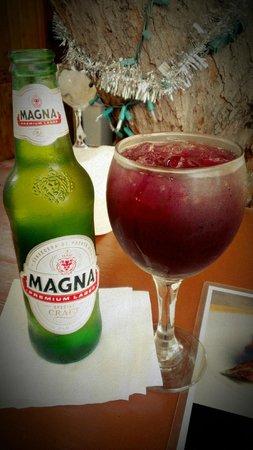 Moons Bar & Tapas: Home made sangria