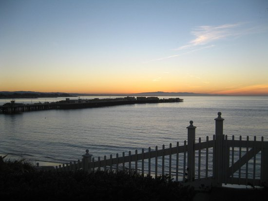 Sea and Sand Inn:                   Santa Cruz Sunrise