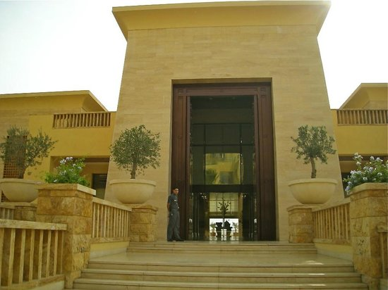 Kempinski Hotel Ishtar Dead Sea:                                     Hotel entrance