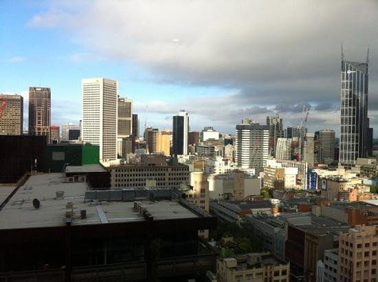 Citadines on Bourke Melbourne:                   great views