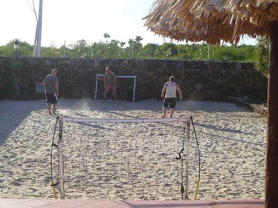 Beach Soccer at Posada Paraiso