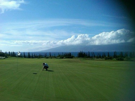 Honua Kai Resort & Spa:                   Plantation course!