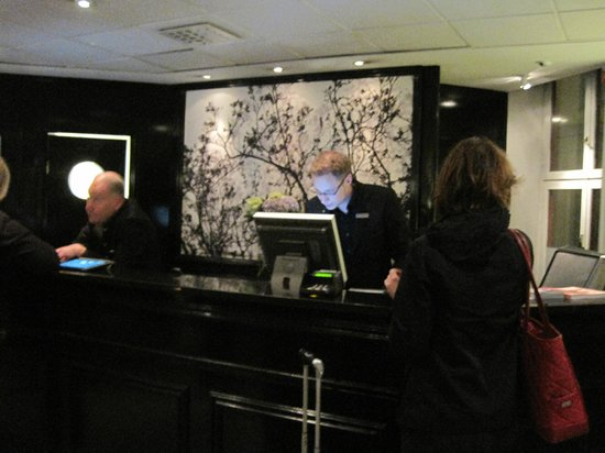 First Hotel Reisen :                   Front desk - he was certainly helpful!