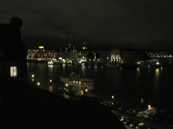 First Hotel Reisen:                   Night view from room
