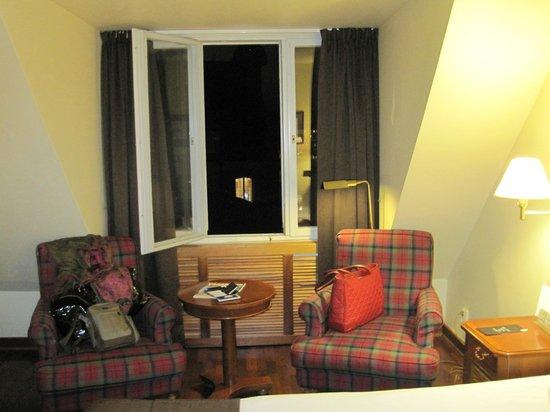 First Hotel Reisen:                   Our window