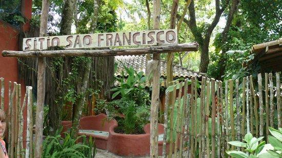 Sítio São Francisco - Pousada de Charme:                                     Frente