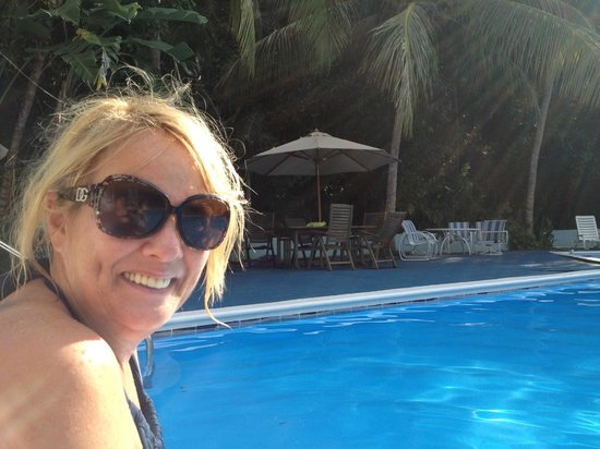 The Tamarind Club:                   Enjoying the sun by the pool