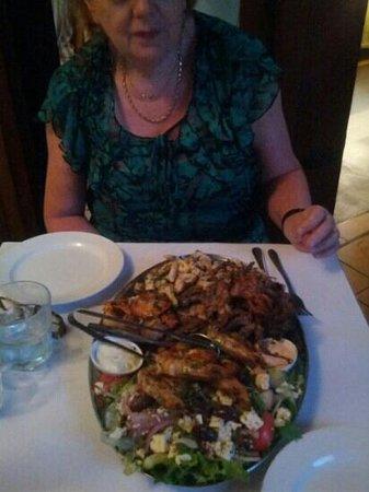The Cyprus Tree:                   seafood platter!