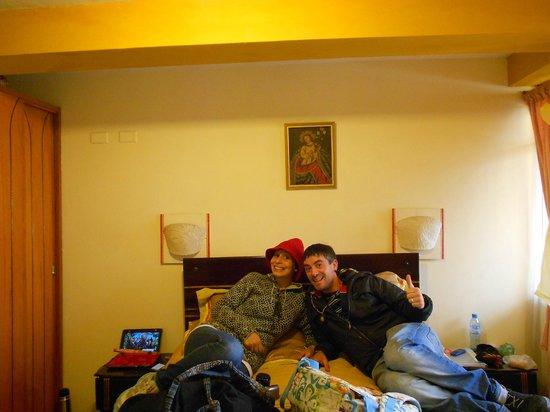 Hostal Cusi Wasi:                   habitacion
