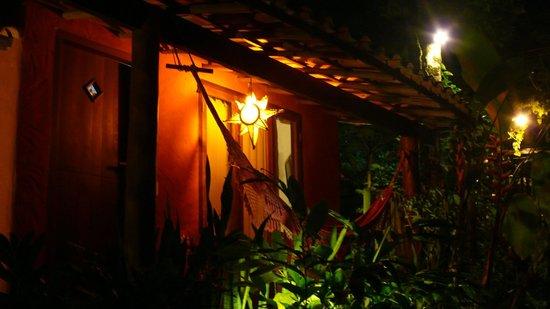 Sítio São Francisco - Pousada de Charme:                                     nuestra suite de noche
