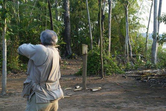 Inkaterra Reserva Amazonica: Archery Skills