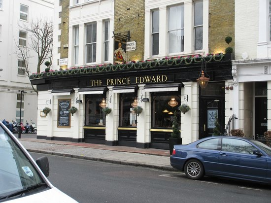 The Prince Edward:                   La façade