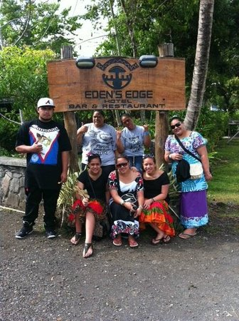Eden's Edge:                   Edens Edge crew visiting from Auckland NZ