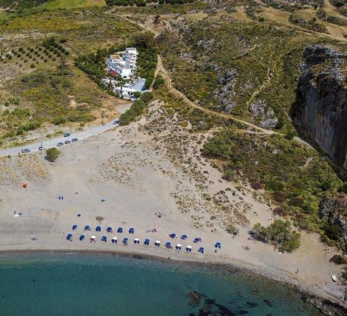 Plakias Bay Hotel: Aerial View
