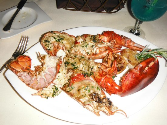 Whole lobster picture of bali steak seafood restaurant for Steak and fish restaurants near me