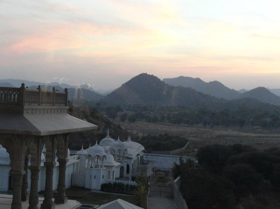 Fairmont Jaipur:                   View from our room