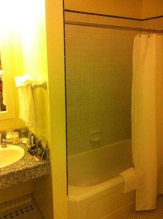 White Swan Inn:                                     banheiro                                  