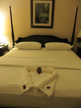 Sandals Negril Beach Resort & Spa:                   different towel every night