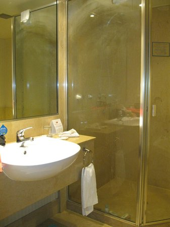 Crowne Plaza Surfers Paradise:                   Standard double room bathroom. Very good