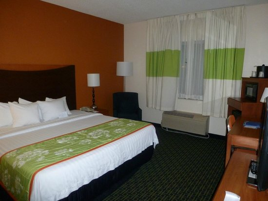 Fairfield Inn & Suites Kansas City Airport: Room