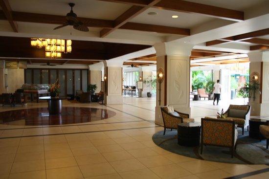 هونوا كاي ريزوت آند سبا:                   The lobby and reception area                 