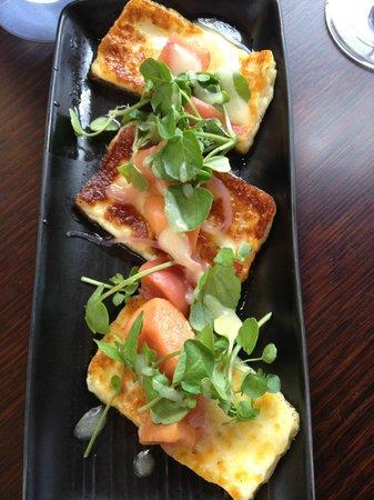 Cove Bar & Dining:                   Haloumi
