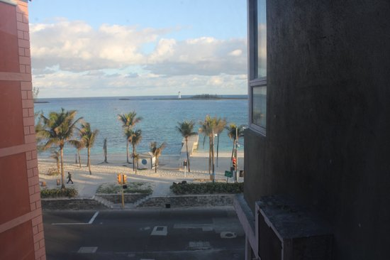 Junkanoo Beach Resort: Window View from Room 503