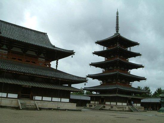 Horyuji Temple:                   4