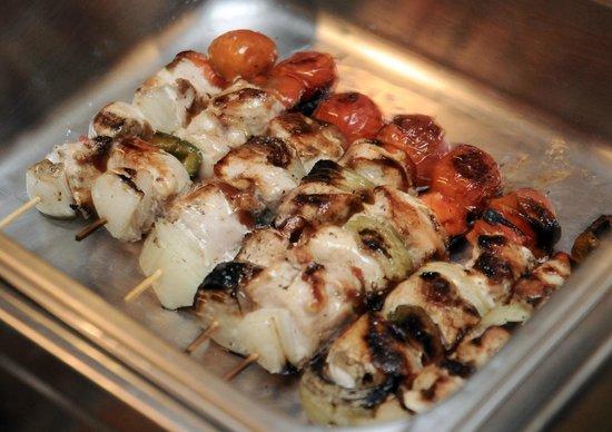 Restaurante & Bbqq El Chicote: Chicken Kebabs