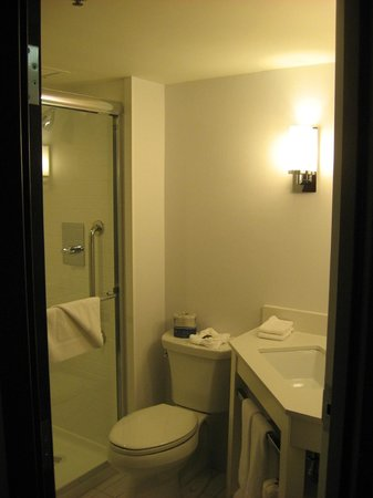 Four Points by Sheraton Mall of America Minneapolis Airport:                   Room 417 Bathroom