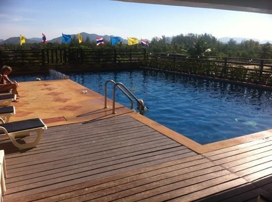 Lanta Residence & Spa :                   skøn pool på taget
